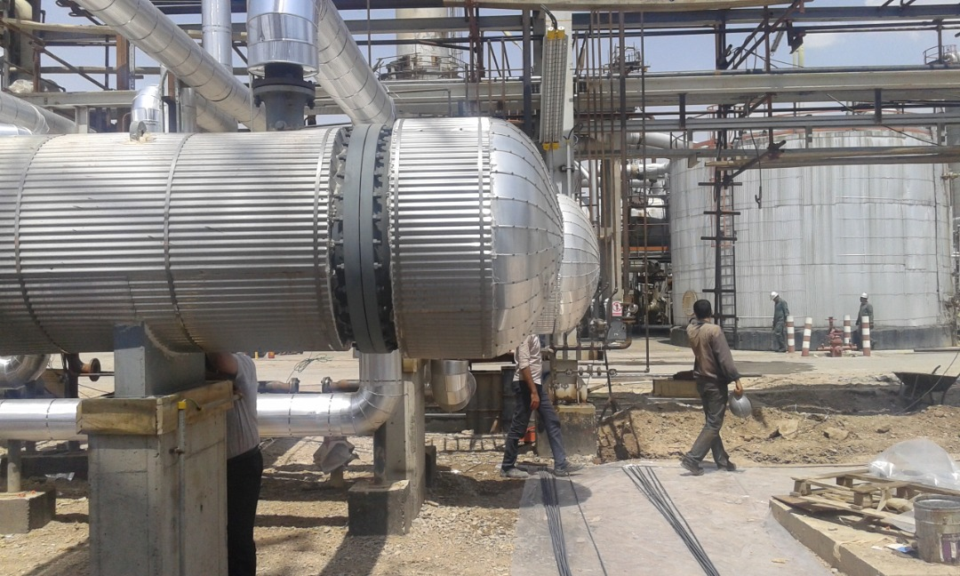 Construction, installation and commissioning of the equipment for the Oil mixing project at Tabriz oil refinery company