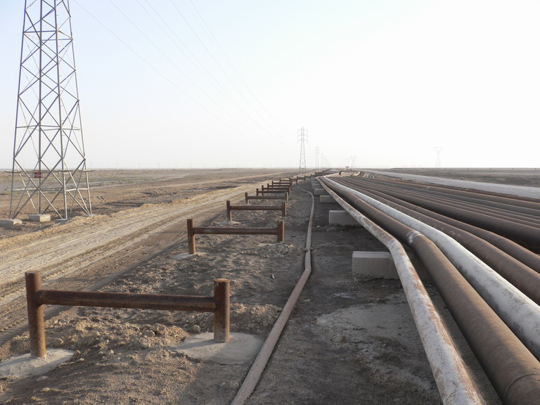 Establishment of 15 km of 12 inched over ground pipeline between 40 miles to EPC Mahshahr Liquefied Petroleum Gas refinery