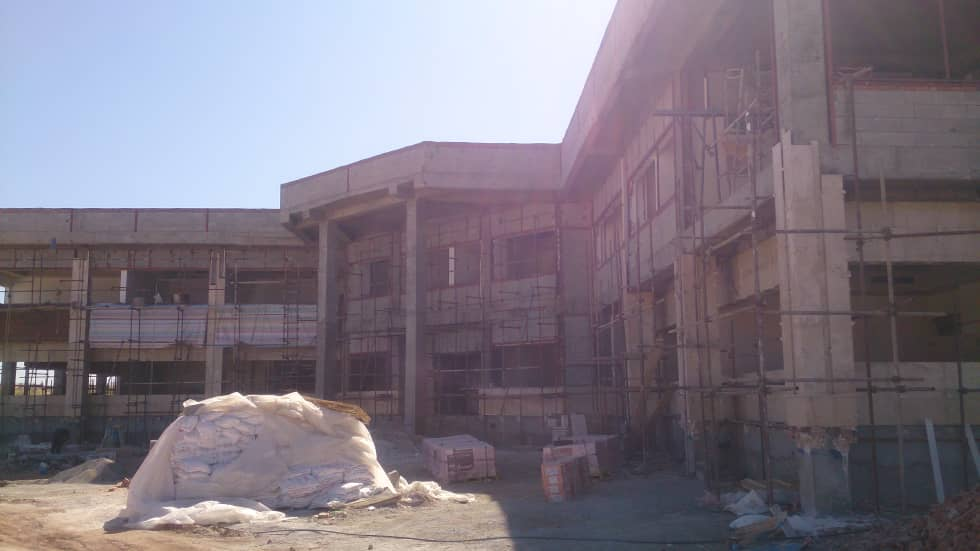 Materials supply, transport and implementation of architectural operations, mechanical and electrical facilities of the office buildings and the restaurant of Mahabad petrochemicals complex