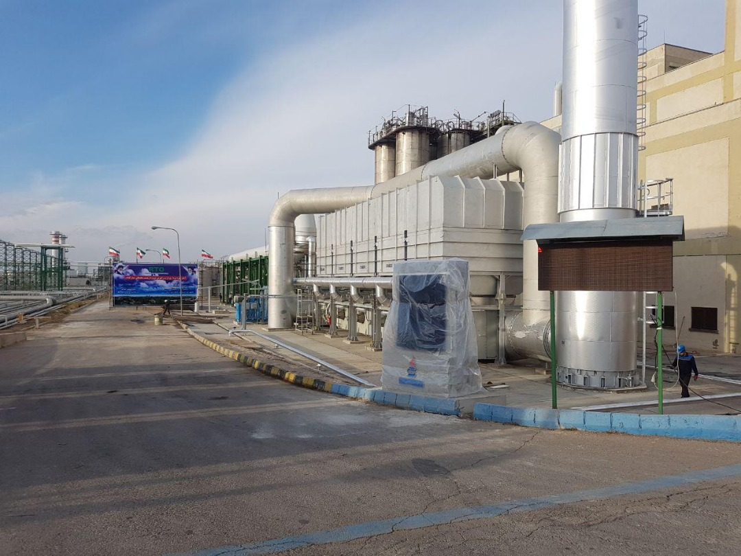 Implementation of mechanical works of the project for collection and annihilation of polluting gases (RTo) of ABS unit of Tabriz Petrochemical complex