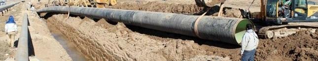 عملیات اجرائی انتقال آب از رودخانه ارس به دشت های یکانات، هرزندات و سد هرزندات- انتقال آب از مخزن RES1 به ایستگاه پمپاژ PS3