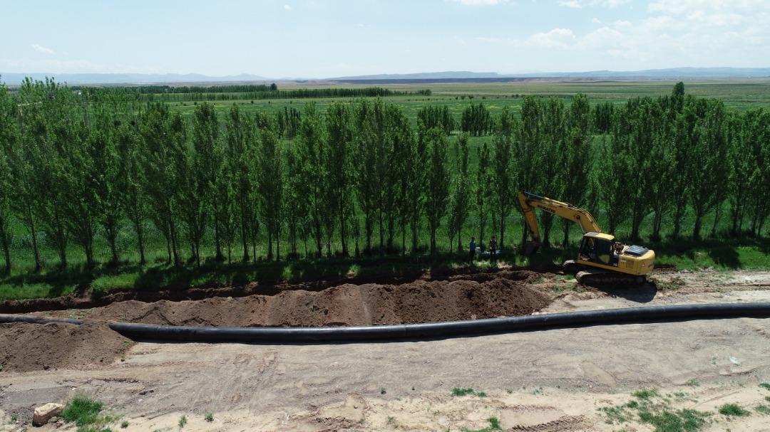 طرح و ساخت شبکه آبیاری و زهکشی پایاب سد ماکو استان آذربایجان غربی