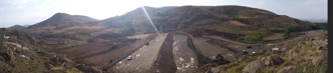 عملیات تکمیلی احداث سد مخزنی آقبلاغ